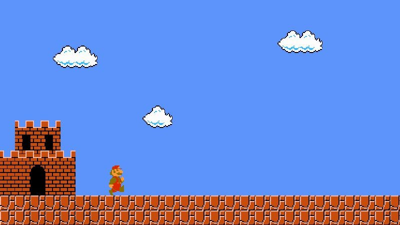 Illustration for article titled The original Super Mario Bros. remains Mario's loneliest quest