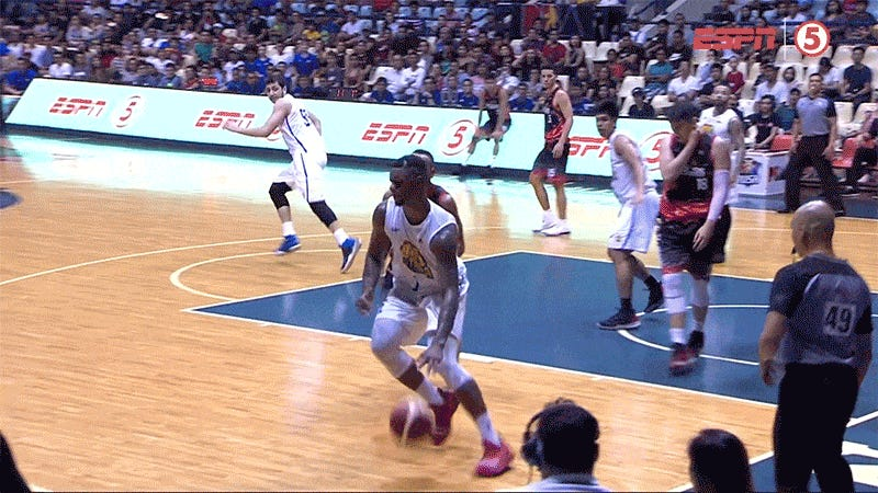 PBA Game Derailed By Nut Shot, Clothesline, Two Dance Interludes