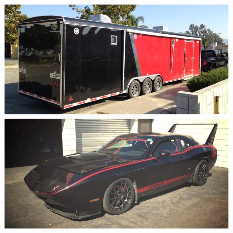 Help Find This Stolen 1,000 HP Dodge Challenger