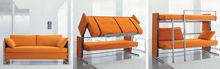 Illustration for article titled Transformer Sofa Magically Morphs into Bunk Bed
