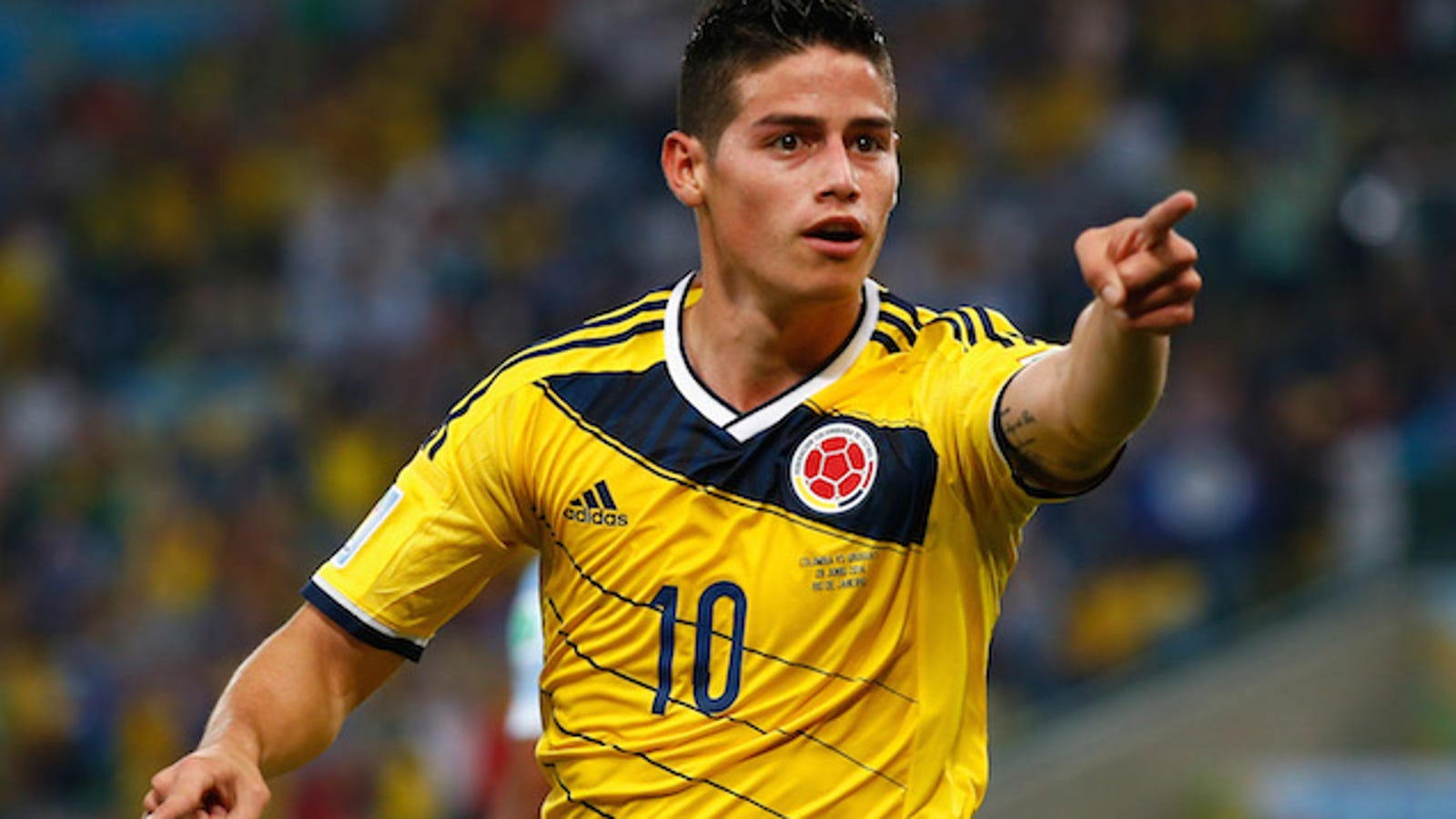 No One Wants To Play Colombia Because James Rodriguez Is Unstoppable