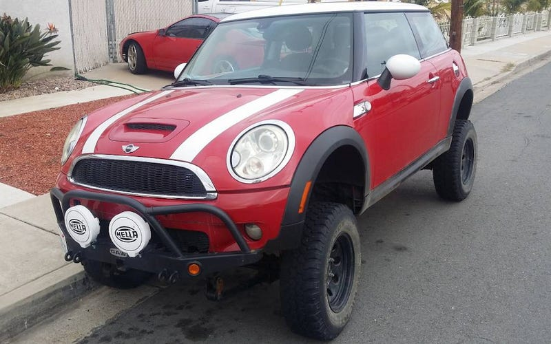 for 6 000 does this 2008 mini cooper s 4x4 rise to the occasion