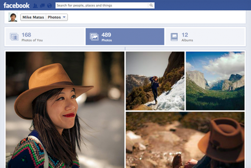 Illustration for article titled Facebook's New Photo UI Creates Gorgeous Mosaics