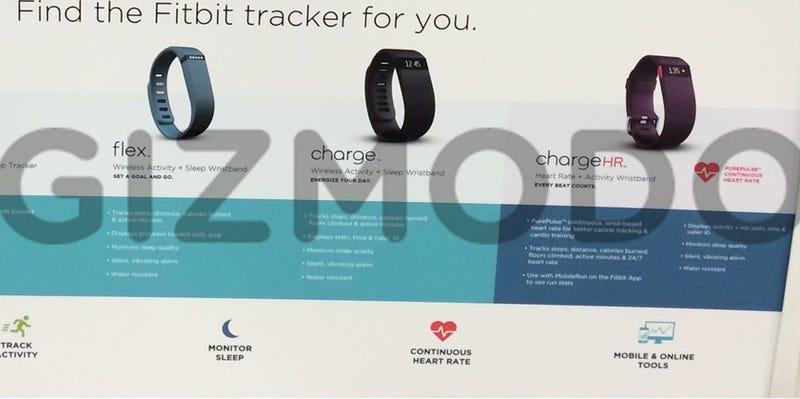 Illustration for article titled Exclusiva: primeras fotos y características de Fitbit Charge y ChargeHR