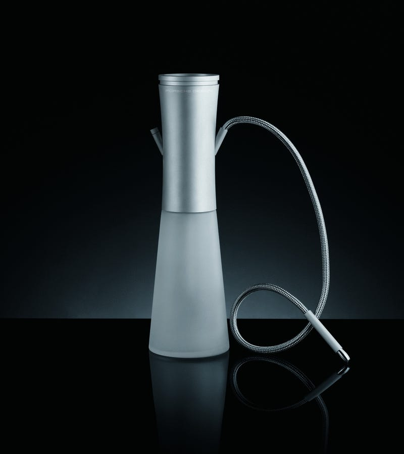 Illustration for article titled Porsche Designs a Bong, er, I Mean, Water-Pipe For Classy People
