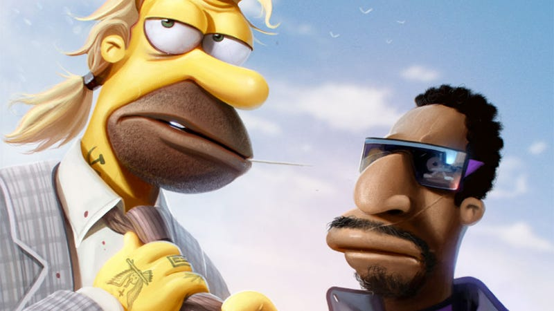 Illustration for article titled Grand Theft Auto Meets The Simpsons