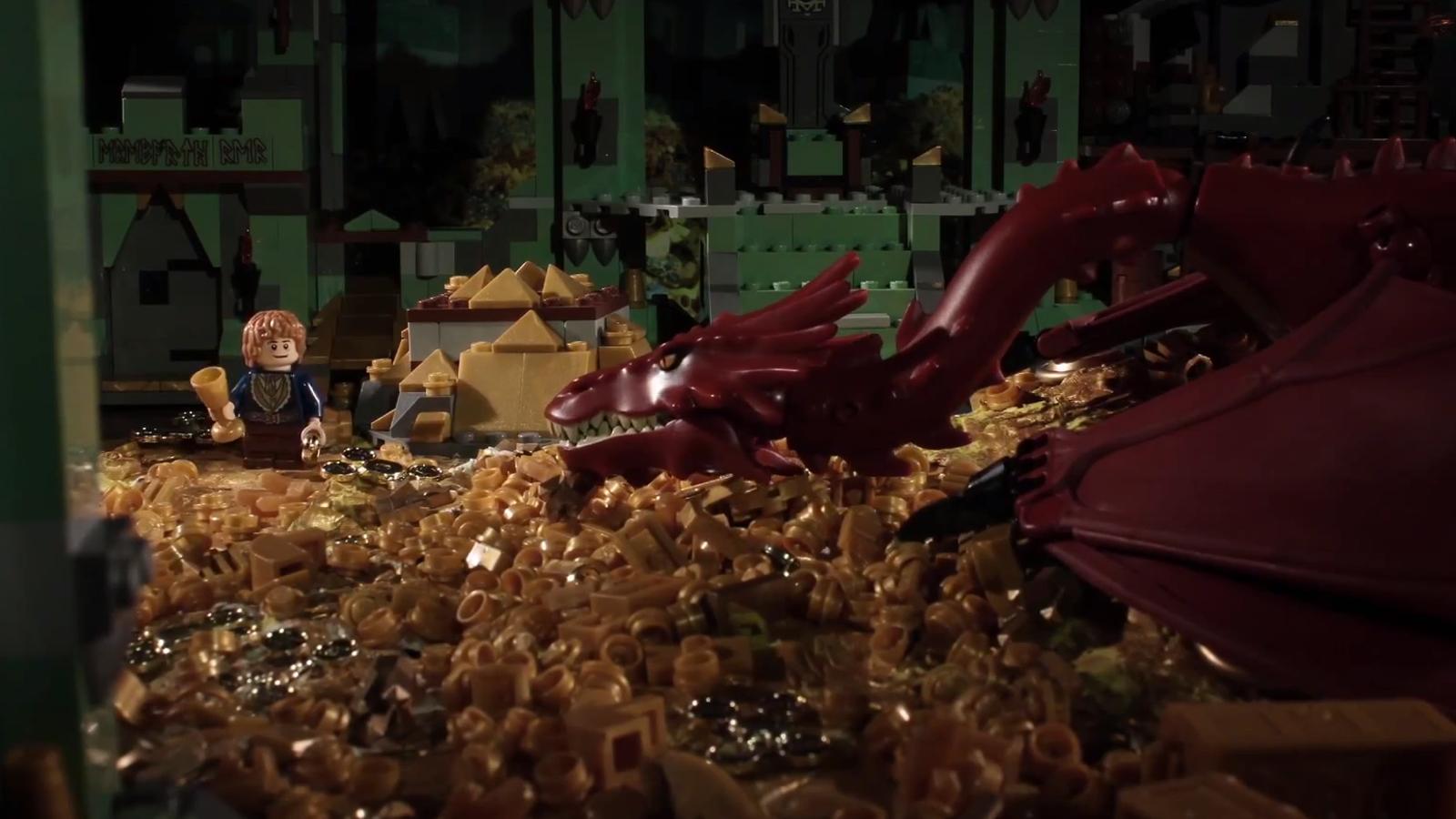 La trilogía completa de El Hobbit, en Lego, y en menos de dos minutos