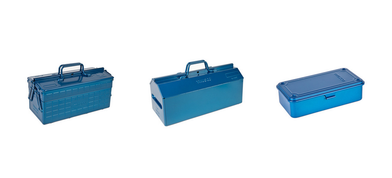 Illustration for article titled You No Longer Have to Go to Japan to Buy These Beautiful Blue Toolboxes