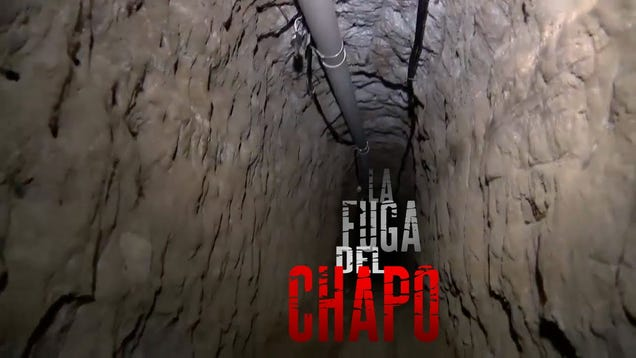 watch security camera footage of  u0026quot el chapo u0026quot  disappearing