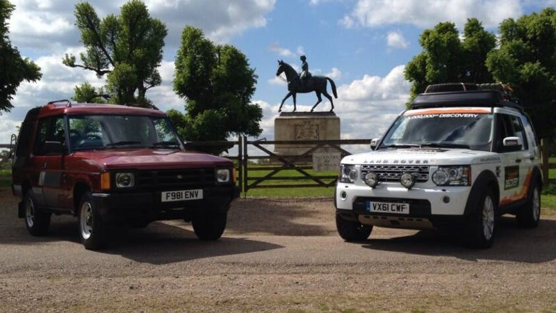 Illustration for article titled 1 Millionth Land Rover Discovery: Sexier Than The Three-Door Original?