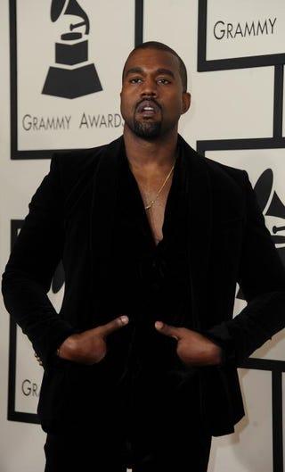 Kanye WestVALERIE MACON/AFP/Getty Images