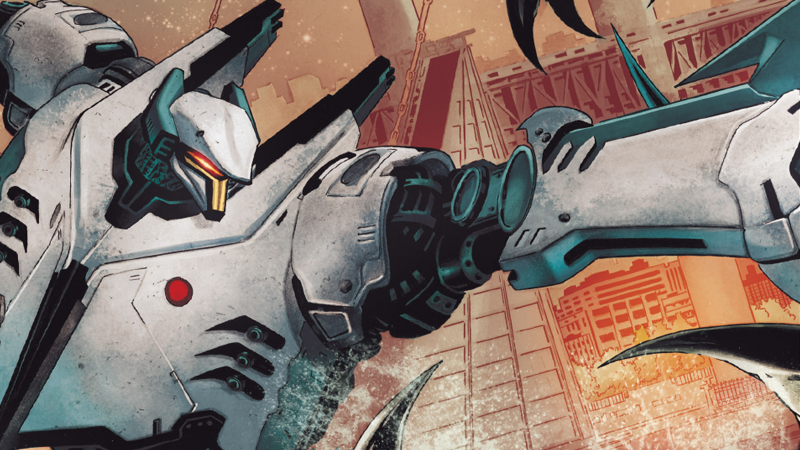 Illustration for article titled The Pacific Rim Comic Has Just the Right Mix of Tragedy and Giant Robots