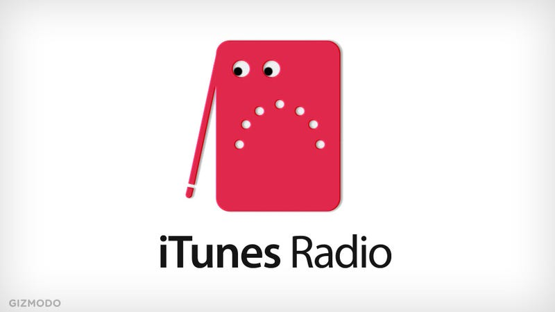 Illustration for article titled iTunes Radio Isn't For You. It's For Apple.