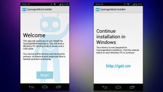Illustration for article titled CyanogenMod Installer Guides You Through Installing CM on Your Phone