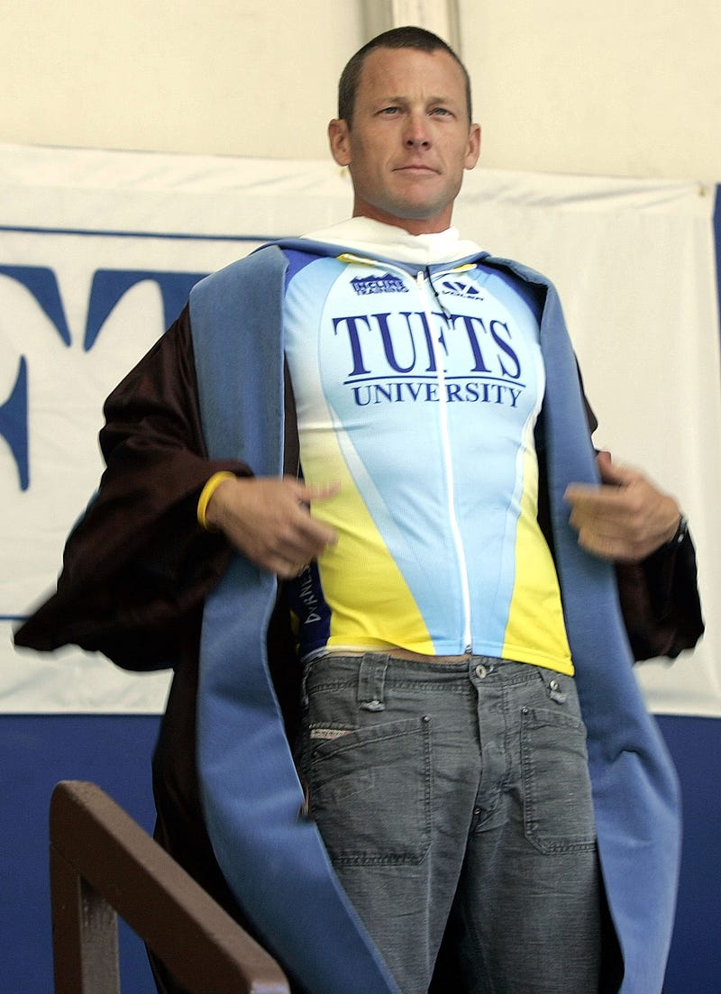 Illustration for article titled Tufts Takes Away Lance Armstrong's Honorary Degree