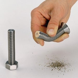 Illustration for article titled Nutty Salt and Pepper Shakers Are All Screwed Up