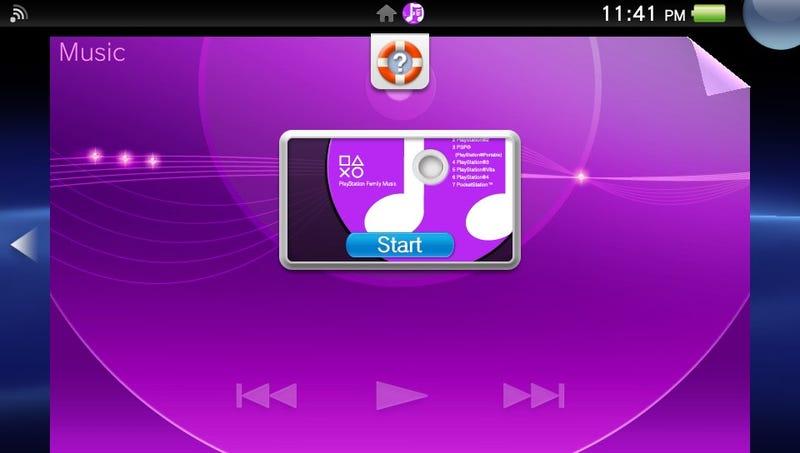 Illustration for article titled PocketStation Reference on PSVita Music App
