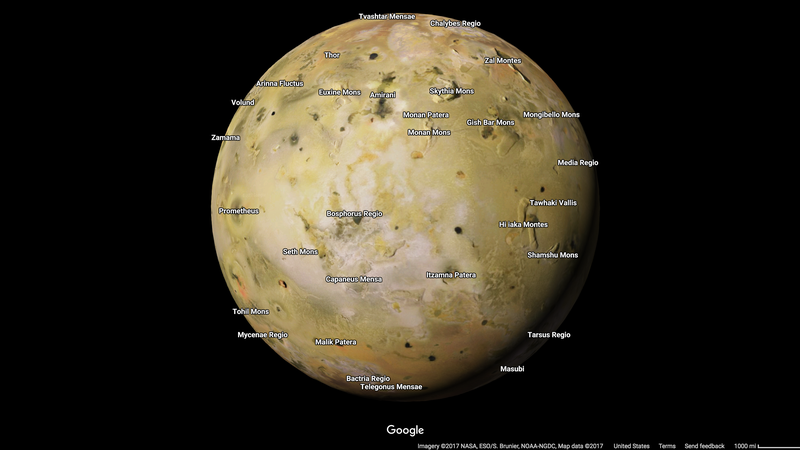 Escape This Wretched Earth With Google's Sweet New Solar System Maps