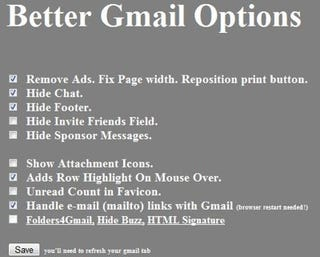 Illustration for article titled Unofficial Better Gmail for Chrome Bends Gmail to Your Will