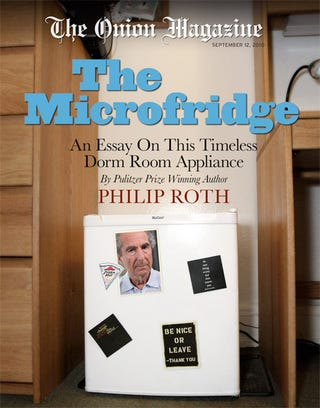 Illustration for article titled The Microfridge: An Essay On This Timeless Dorm Room Appliance By Pulitzer Prize Winning Author Philip Roth