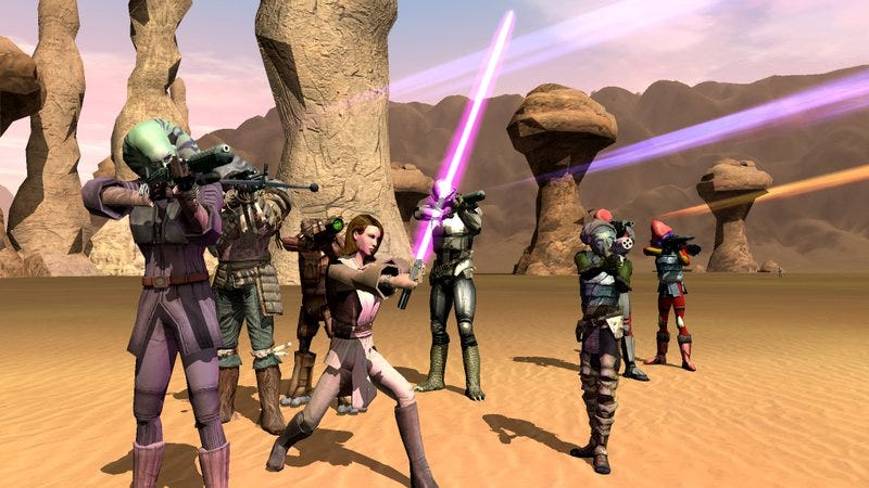 Illustration for article titled Read This: How the Jedi killed Star Wars Galaxies