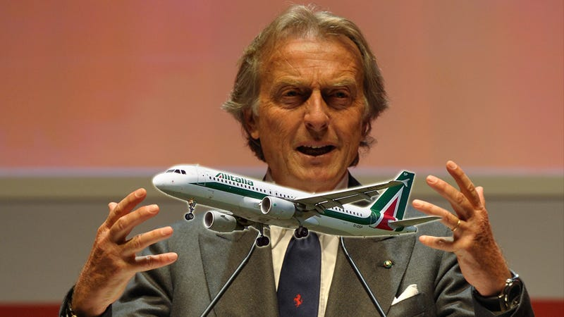 Illustration for article titled Ex-Ferrari Boss Montezemolo Hired To Revamp 'Europe's Sexiest Airline'