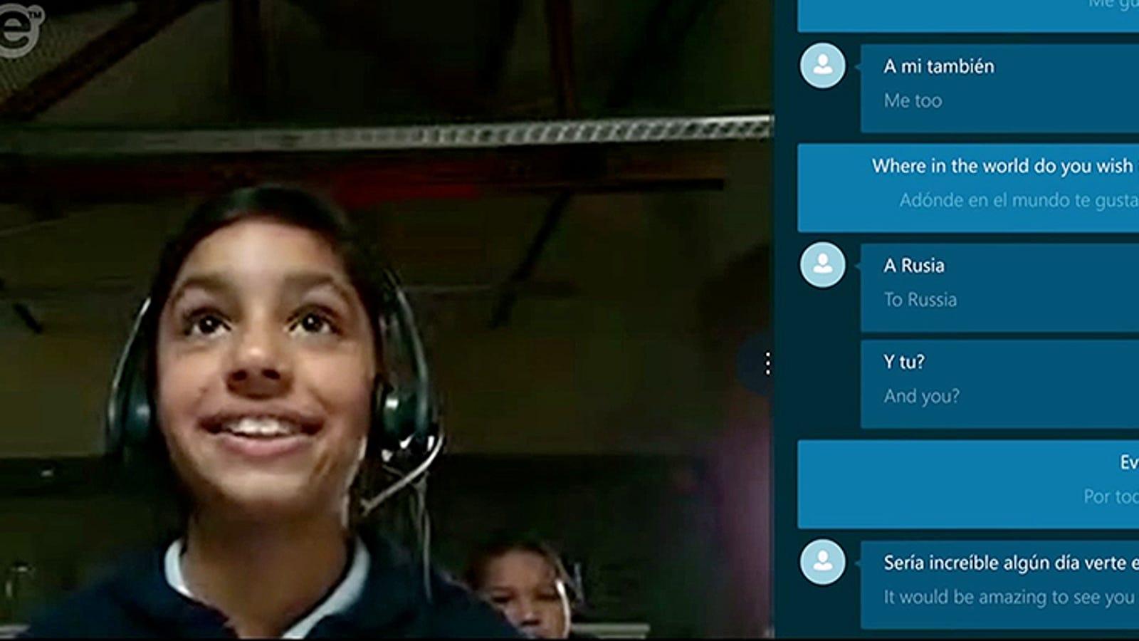 El traductor en tiempo real de Skype, ya disponible en inglés y español