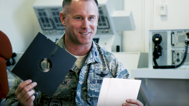 U.S. Military Will Stop Using Floppy Disks to Operate Its Nuclear Weapons System