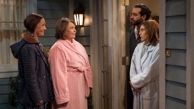 "Illustration for article titled Roseanne will move ""away from politics and toward family"" next season, ABC says"