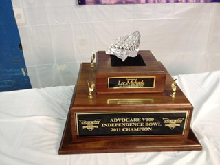 Illustration for article titled Mizzou And North Carolina Will Be Competing For This Broken Trophy