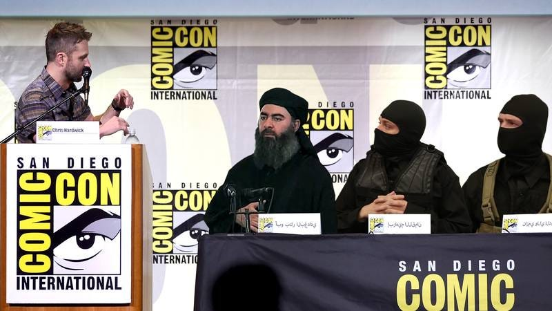 Chris Hardwick moderates an incredible panel with ISIS.