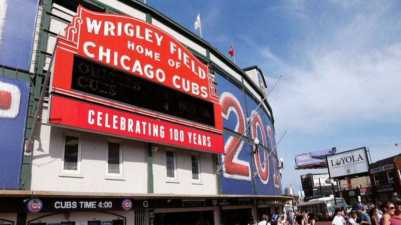 Illustration for article titled Cubs Insist Wrigley Field Beef Machine Will Be Ready For Opening Day