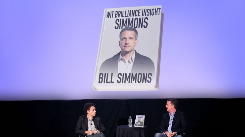Illustration for article titled Bill Simmons Releases 2,000-Page Book Exploring How Fucking Clever He Is