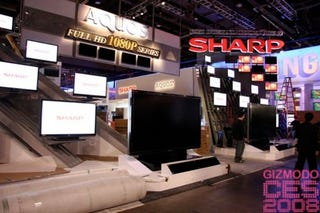 Illustration for article titled It's Official: Sharp Has No Answer to Panasonic's 150-Inch Plasma