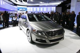 Illustration for article titled Detroit Auto Show: Volkswagen Passat CC Four-Door Coupe Live