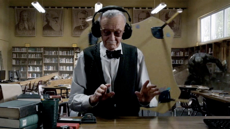 Stan Lee's cameo in The Amazing Spider-Man