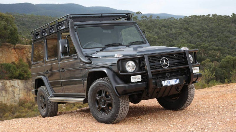 Illustration for article titled The Outgoing Mercedes G-Class Is Still In Production Because Icons Never Die