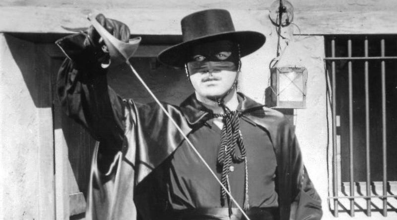Illustration for article titled That Crazy Post-Apocalyptic Zorro Movie Is Now a Ridiculous Futuristic Zorro Movie