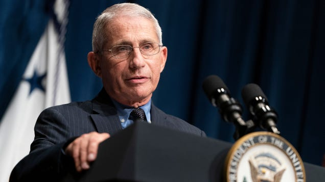 Fauci: I Was Having Surgery When Task Force Discussed Watering Down CDC Testing Guidelines