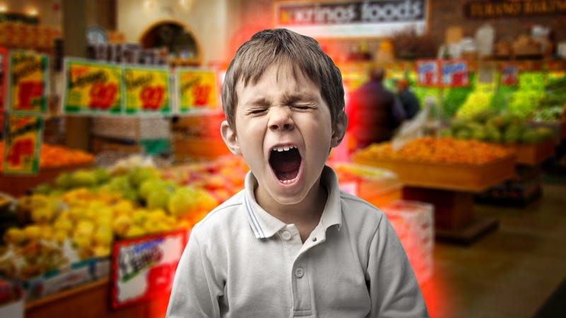 Illustration for article titled How To Get Your Kids Through the Grocery Store, Meltdown-Free