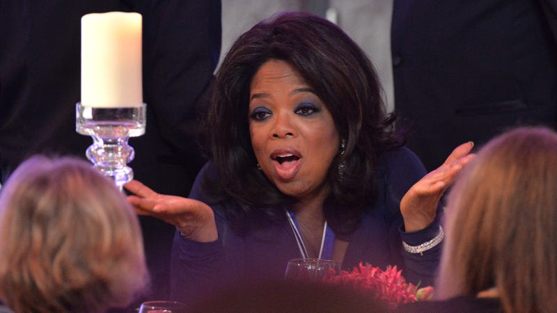 Oprah Winfrey at a Smithsonian National Museum of American History dinner in 2013.