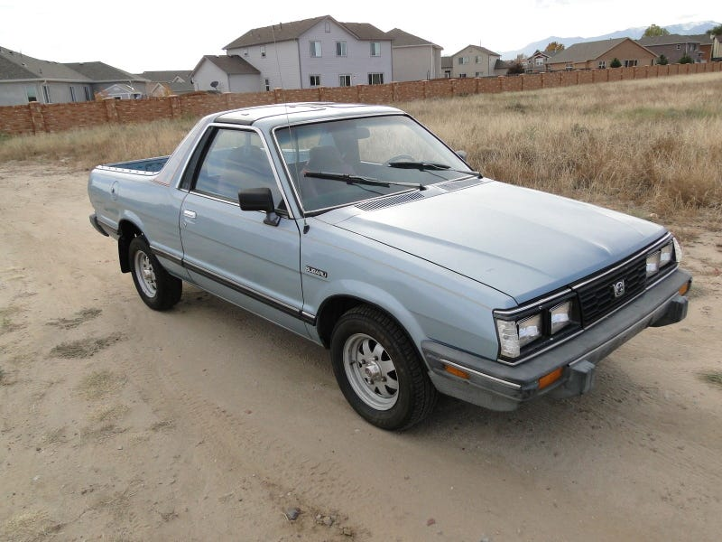 Illustration for article titled eBay Find of The Day: Subaru BRAT-AT, ed.