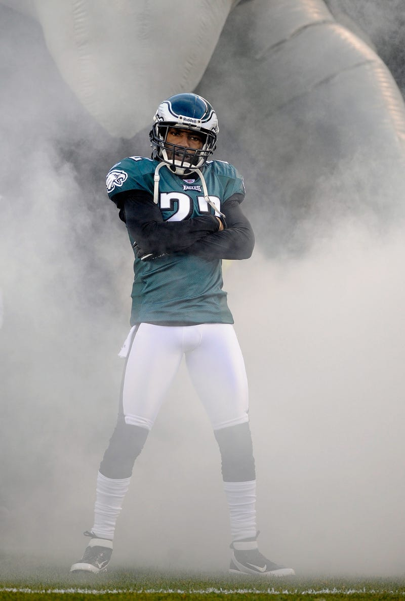 """Illustration for article titled Asante Samuel: There Are """"A Lot Of Sad Eagles Fans Over There"""""""
