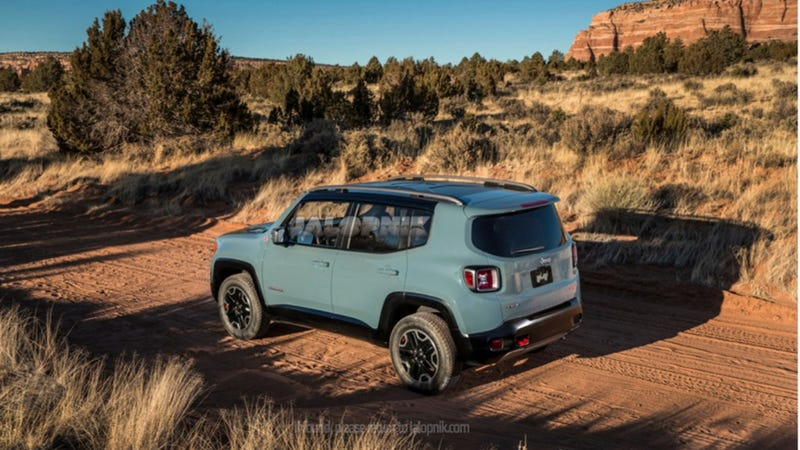 Illustration for article titled Would the new Jeep Renegade meet WRC requirments?