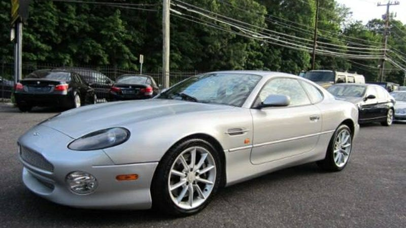 For $27,995 Could This 2002 Aston Martin DB7 Vantage Be