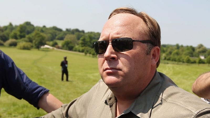 Alex Jones in a file photo from 2013