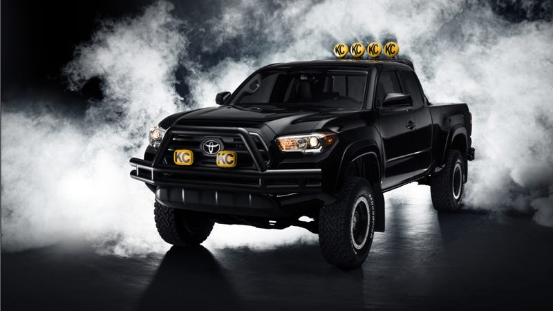 Ilration For Article Led This Back To The Future Toyota Tacoma Is Only Reference That