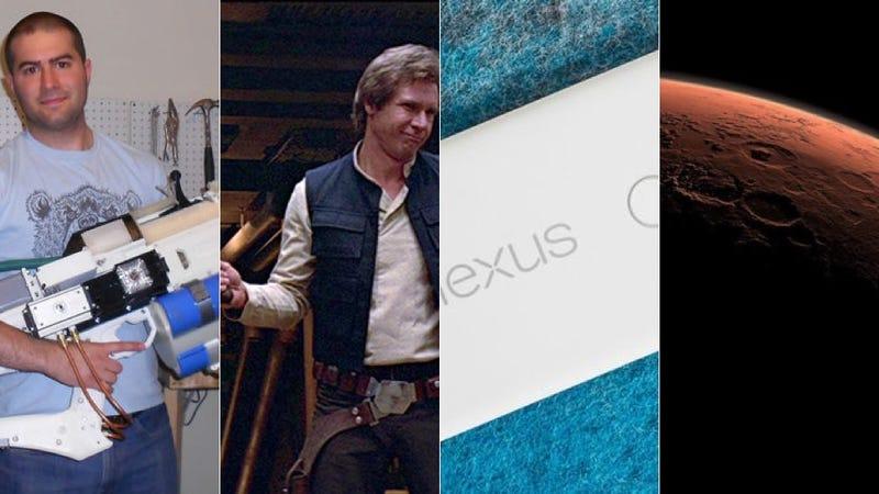 Illustration for article titled Cañones Arduino, Star Wars y DeLoreans, lo mejor de la semana en Gizmodo en Español