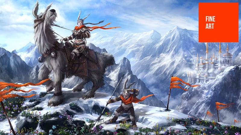 Illustration for article titled Beautiful Video Game Art, Direct From Korea