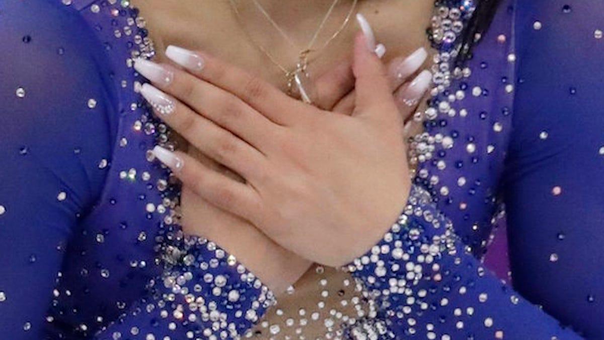 Kindly Take a Moment to Peep Gabrielle Daleman\'s Elegant Talons